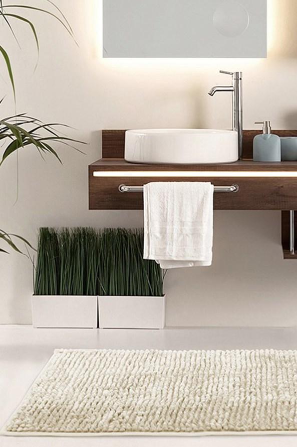 Kúpeľňová predložka Bati béžová
