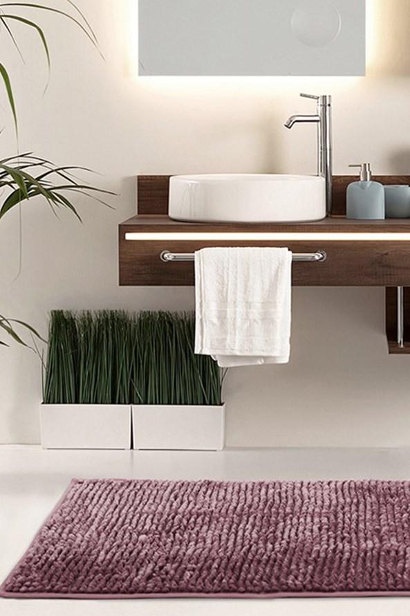 Bati fürdőszobai kilépő, lila