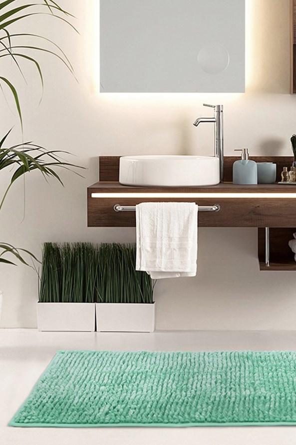 Kúpeľňová predložka Bati mentolová