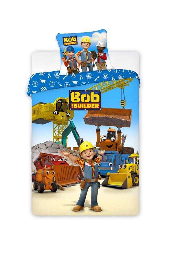 Chlapčenské obliečky Staviteľ Bob