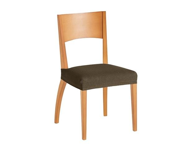 Súprava 2 poťahov na stoličku hnedá
