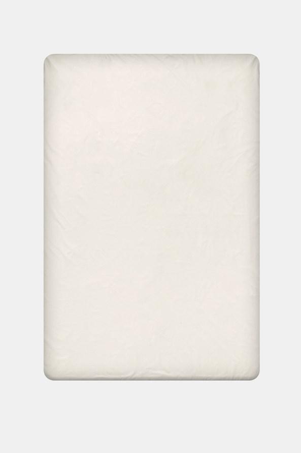 Napínacie bavlnené prestieradlo smotanové