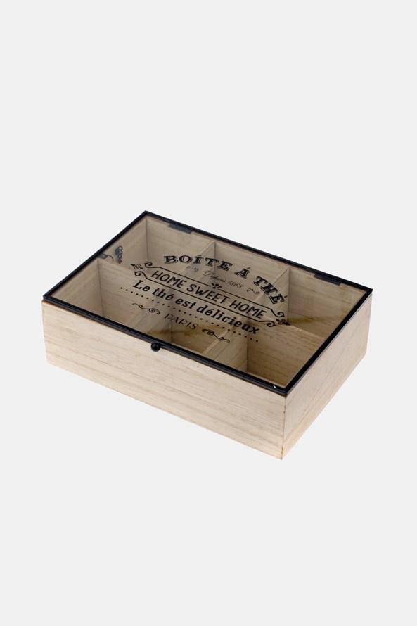 Krabička na čaj veľká