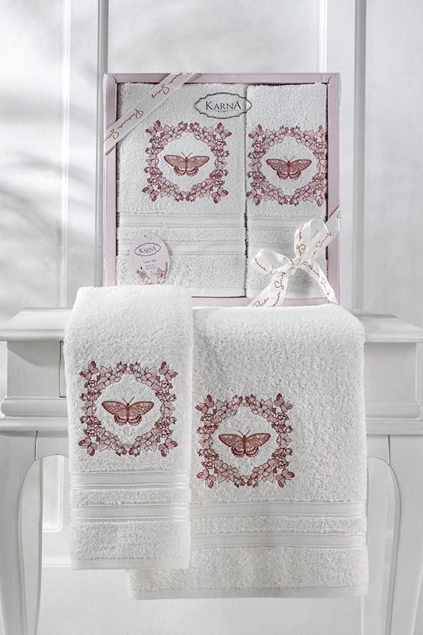 Darčeková súprava uterákov Cream