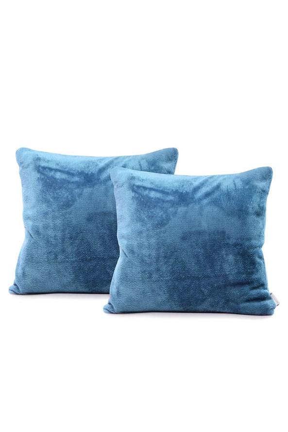 Súprava 2 ks obliečok na vankúšik modrá