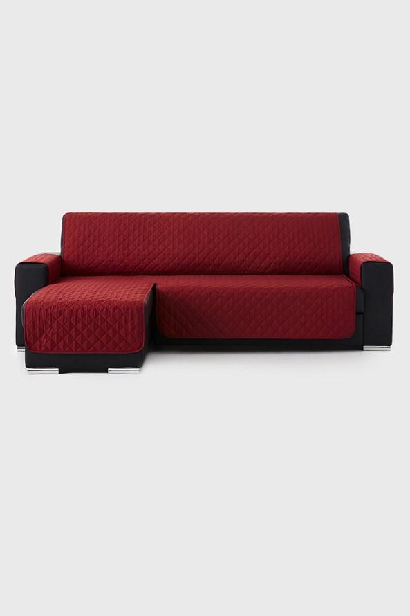 Moorea bútorhuzat sarokkanapéra, piros - bal oldali