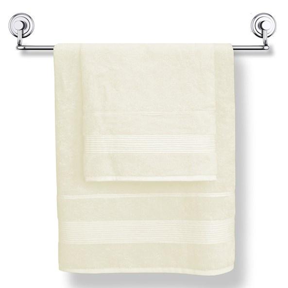Bambusový uterák Moreno krémový
