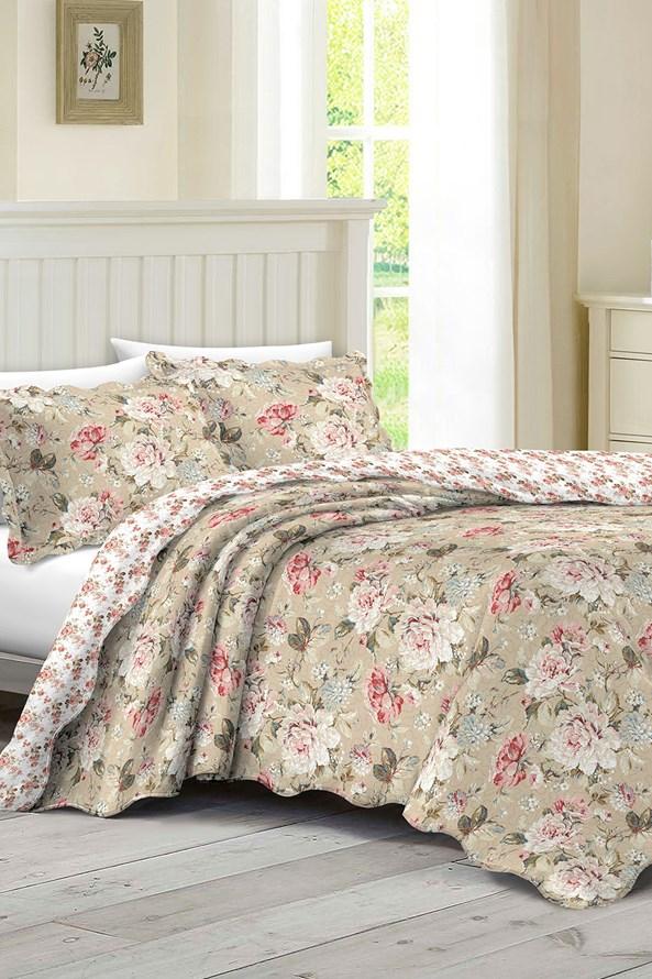 SZETT ágytakaró kétszemélyes ágyra és 2 db párna