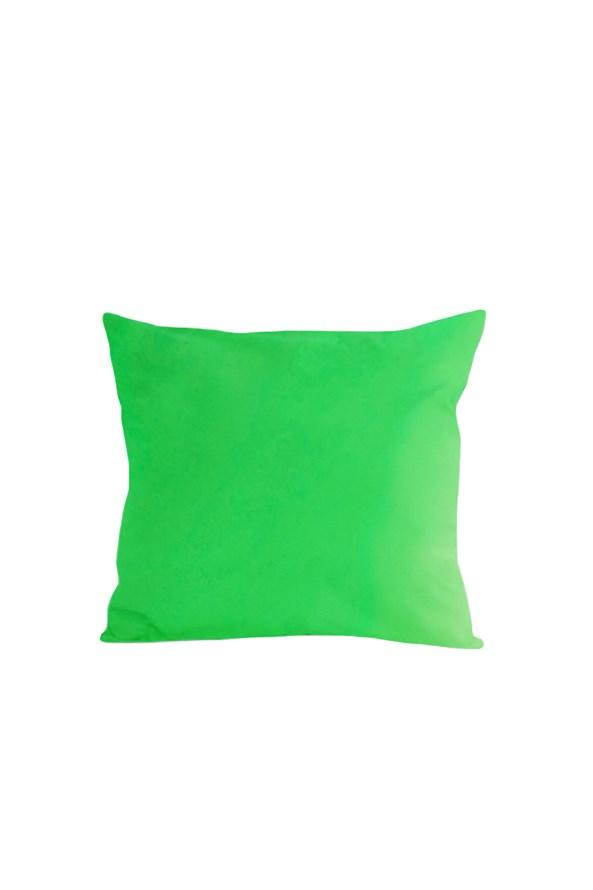 Obliečka na vankúšik zelená