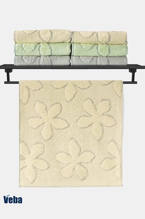 Luxusný uterák VEBA Primavera žltý
