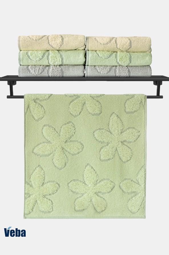 Luxusný uterák VEBA Primavera zelený