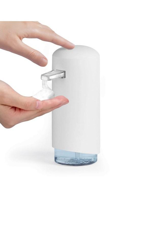 Dávkovač mydlovej peny Compactor biely