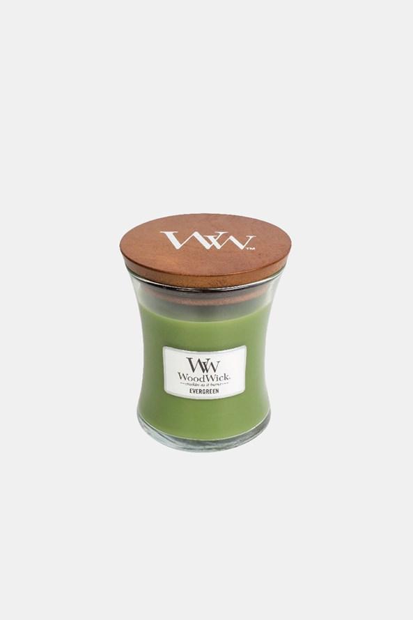 Sviečka WoodWick Evergreen stredná