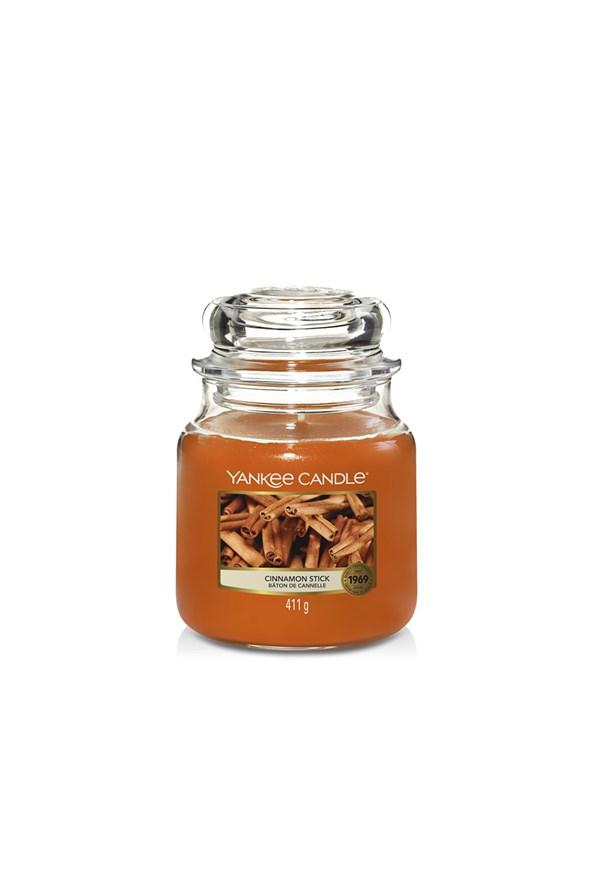Sviečka Yankee Candle Cinnamon stredná