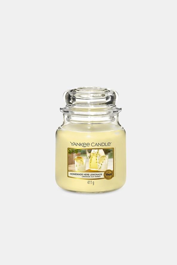 Sviečka Yankee Candle Homemade Herb Lemonade stredná