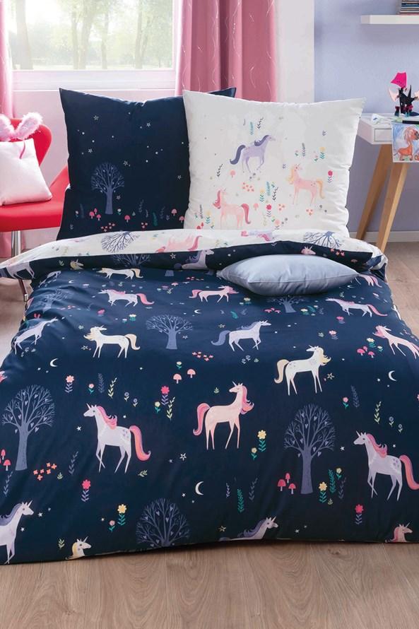 Dievčenské luxusné obliečky Unicorn
