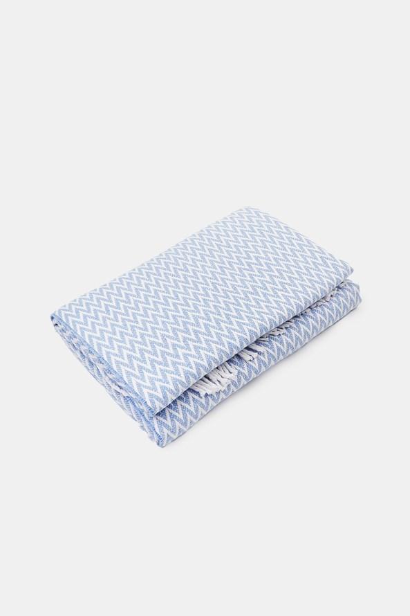 Luxusná deka Steps modrá