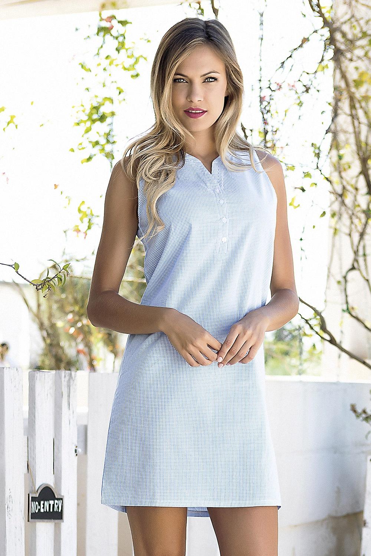 Dámske letné šaty Bernetta modré
