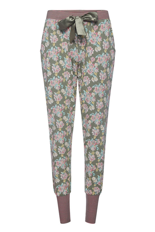 Dámske pyžamové nohavice Flowers