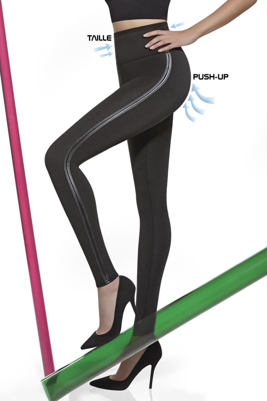 Mid - Sťahovacie legíny Angelica s Push-Up efektom