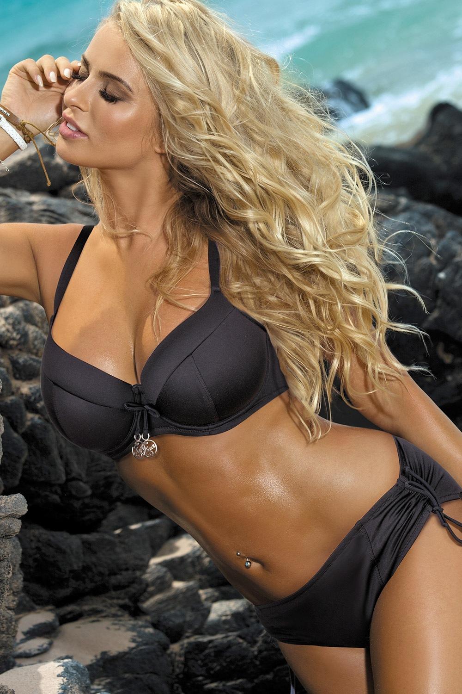 Dvojdielne dámske plavky Carla čierne