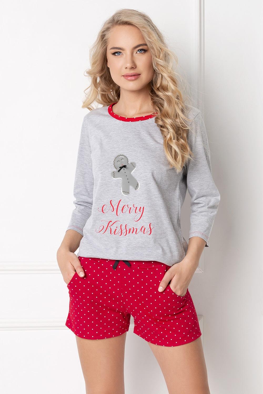 Dámske pyžamo Cookie krátke