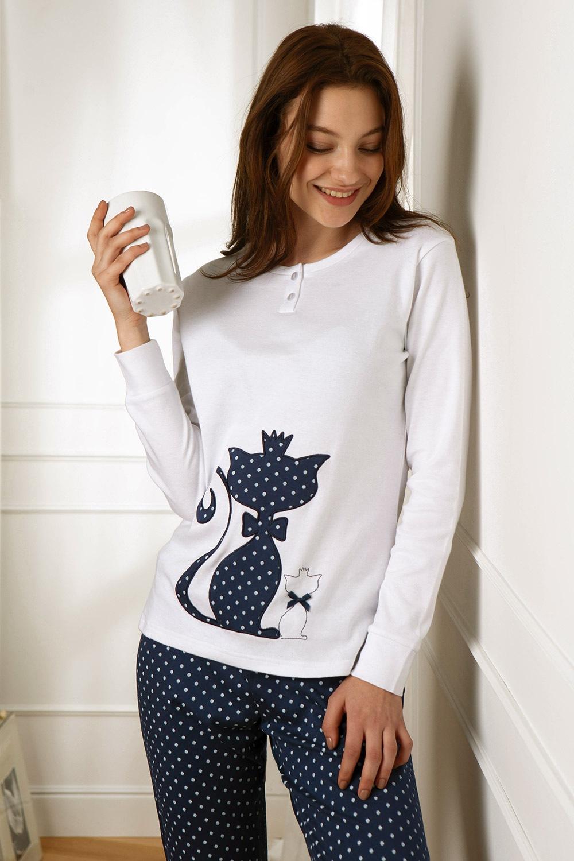 Dámske pyžamo Cat