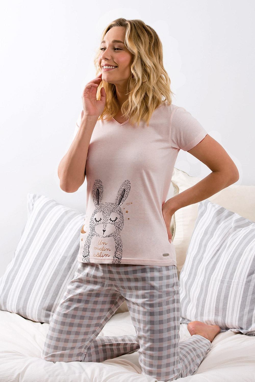 Dámske pyžamo Calin dlhé