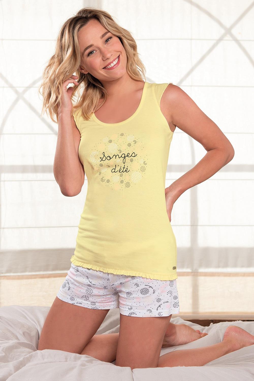Dámske pyžamo Onirique krátke