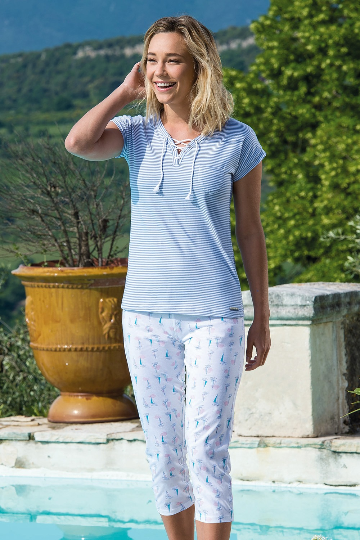 Dámske pyžamo Voiliers