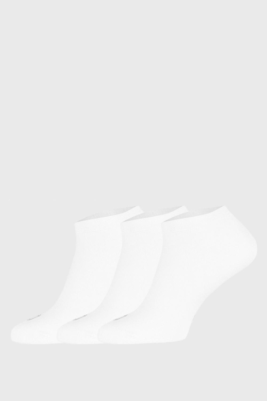 3 pack bambusových ponožiek Desi biele