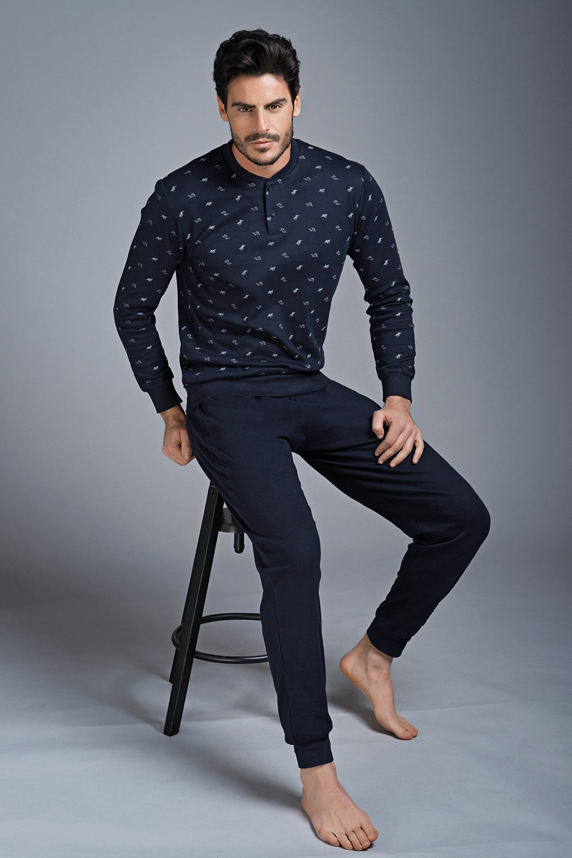 Pánske pyžamo Interlock