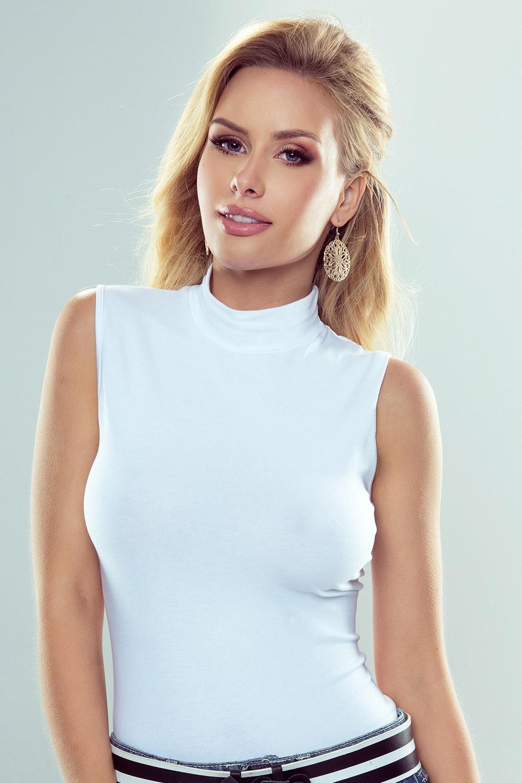 Dámske bavlnené tričko Emmi
