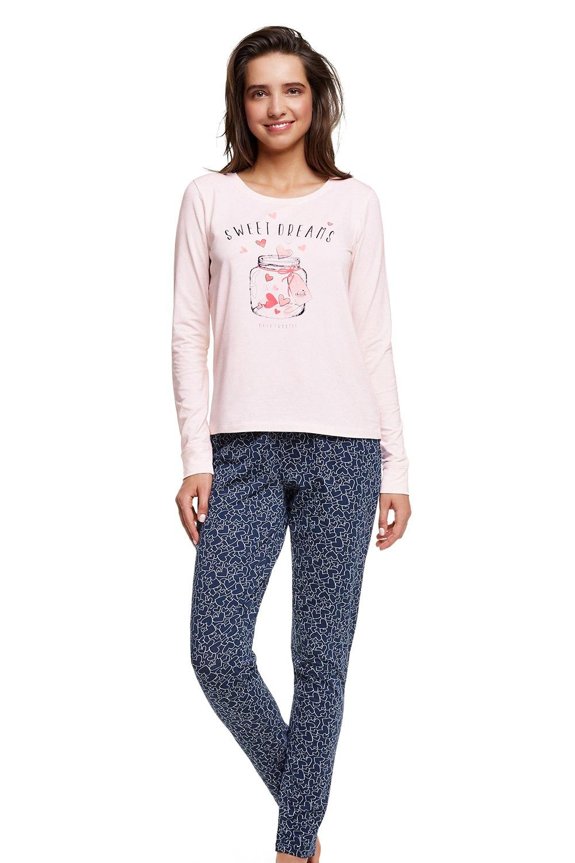 Dámske bavlnené pyžamo Hearty