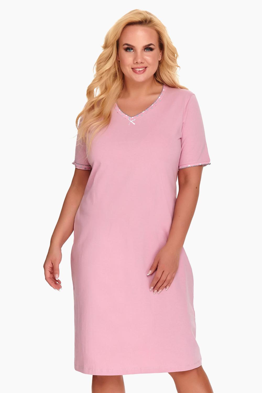 Doctor Nap Dámska nočná košeľa Dorine ružová ružová XXL