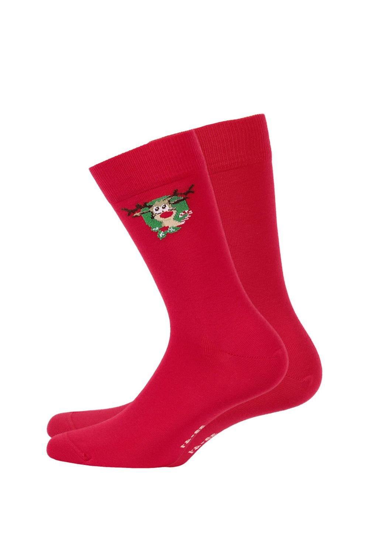 Pánske vzorované ponožky 993